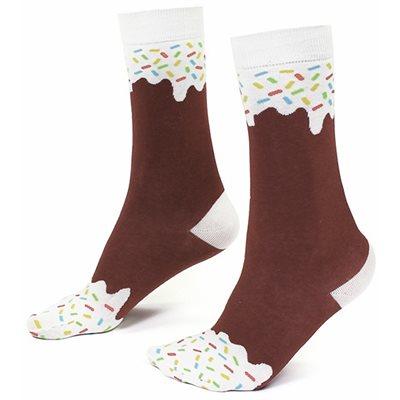 Icepop Socks Chocolate
