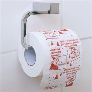 Papier toilette blague de Noël(Anglais)
