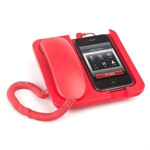 Supportportable Téléphone Pronto! Rouge
