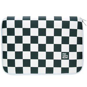 iPad Sleeve Checker Flag - Pat Says Now