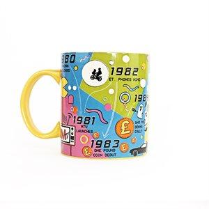 80s Decade Mug
