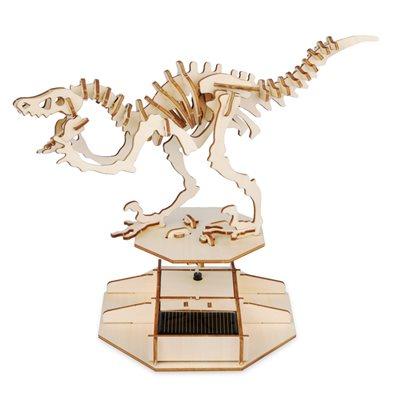 3D Solar Puzzle Dinosaur