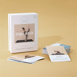 Calm Club-Cartes Yoga