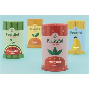 Bougies Fruitiful