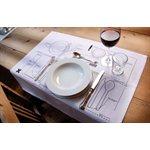Etiquette Placemats-2 Pack