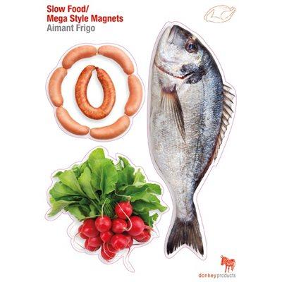 Aimants Frigo-Slow Food