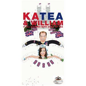 Tea Greeting Card-KaTea and William