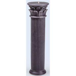 Hestia Column Candle L Blue