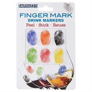 Finger Drink Markers