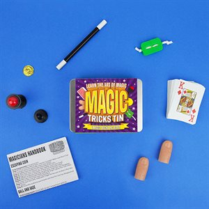 Magic Tricks Tin Kids