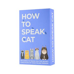 How to speak Cat Cards