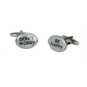 Boutons de manchette-Don't Worry