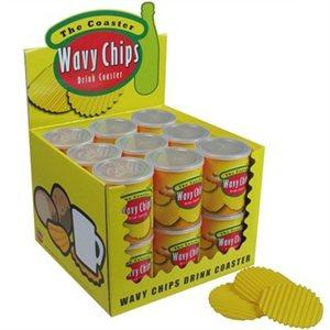 Wavy Chip Coasters