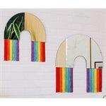 Rainbow Wall Mirror M