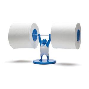 Porte-rouleaux Mr T-Bleu