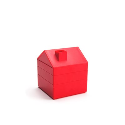 In House Desktop Storage-Red