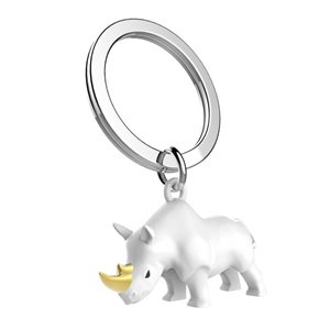 Keychain-Rhino White