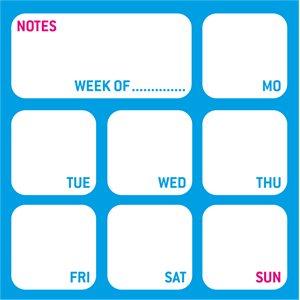 Mega Sticky Note - My Week