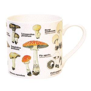 Mushrooms Bone China Mug