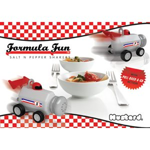 Formula Fun Salt and Pepper Shakers