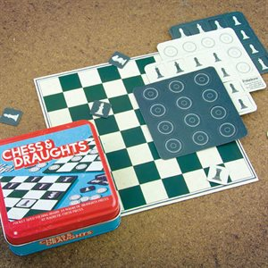Chess and Draughts Travel Set