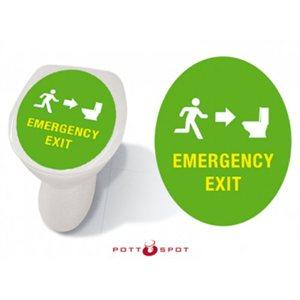 Pott Spot-Emergency Exit