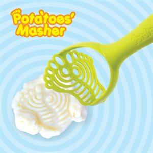 Funky Footprint Potato Masher