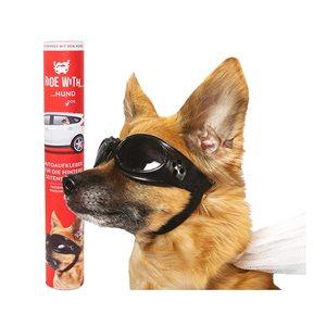 AUTOCOLLANT POUR VOITURE chien