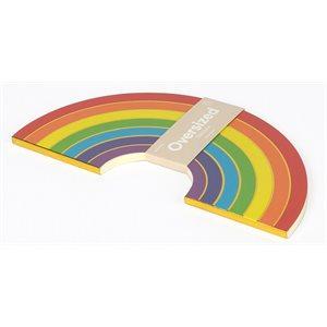 Oversized Notebook Rainbow