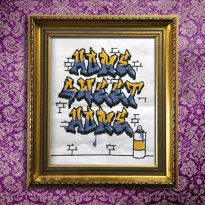 Cross Stitch-Graffiti