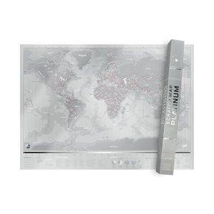 Platinum Scratch Map