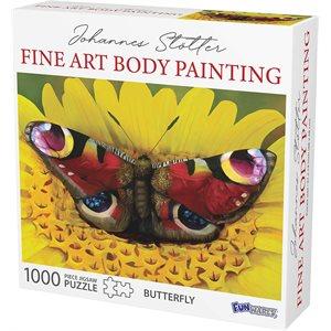 Johannes Stotter Butterfly Body Art Puzzle