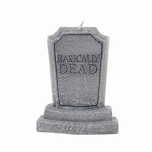 Basically Dead Bithday Cake Candle