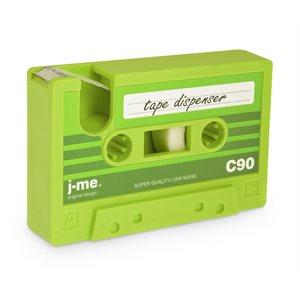 CASSETTE TAPE DISPENSER-Green