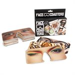 Face Coaster Glasses