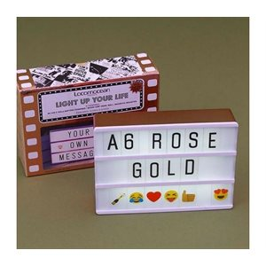 Mini Lightbox Magnetique-Or Rose