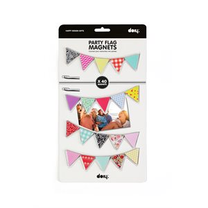 Party Flag Magnets