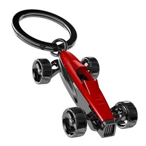 Keychain-Racing Car Red