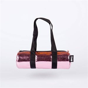 Duffle Pencil Case Glossy Pink